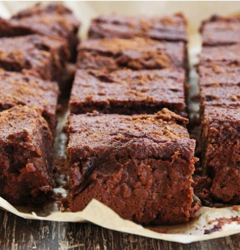 Satisfy your Sweet Tooth with these Healthy Sweet Potato Brownies!