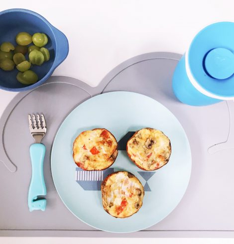 Quick Meals For Your Toddler : Easy Delicious Egg Cups